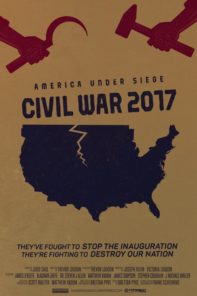 Poster for America Under Siege: Civil War 2017