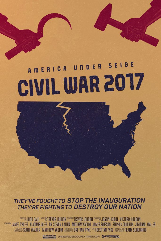Poster for America Under Seige: Civil War 2017