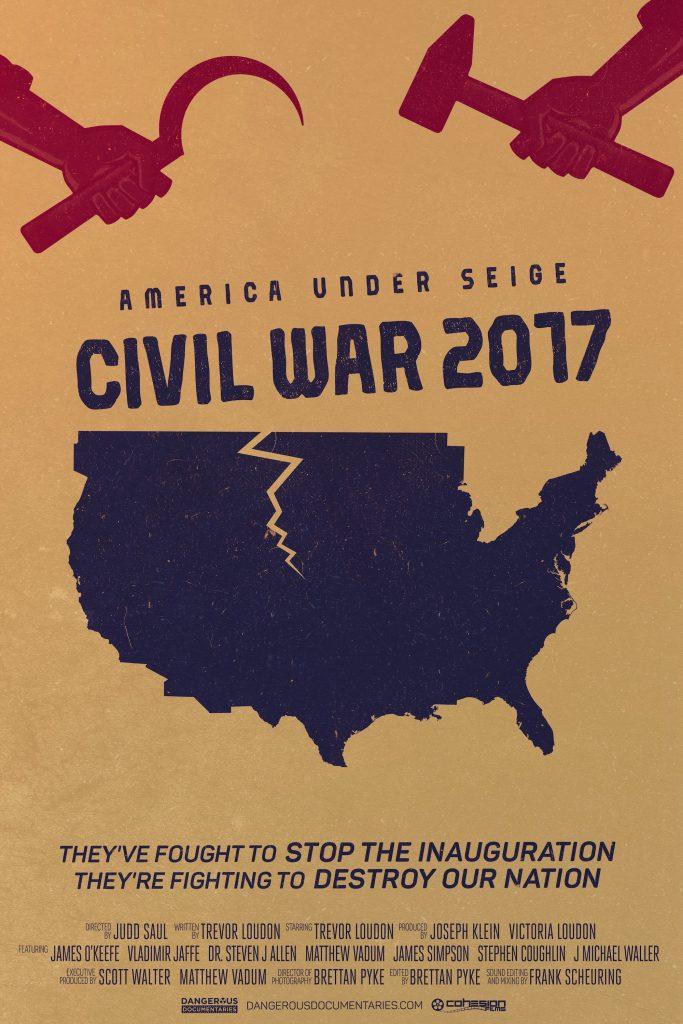 Poster for America Under Seige: Civil War 2017