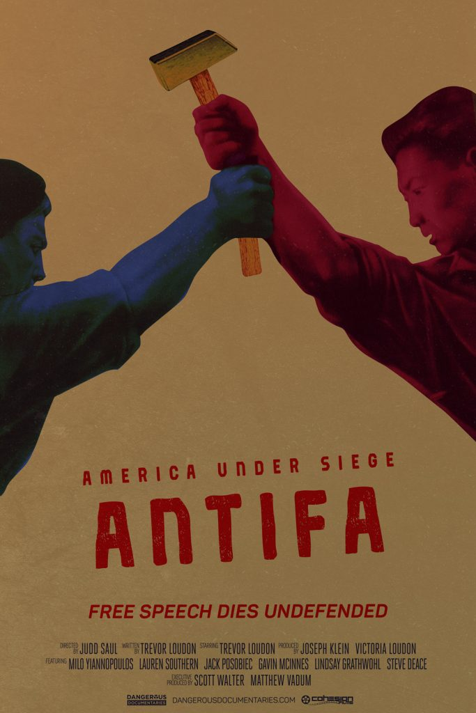 Poster for America Under Siege: Antifa