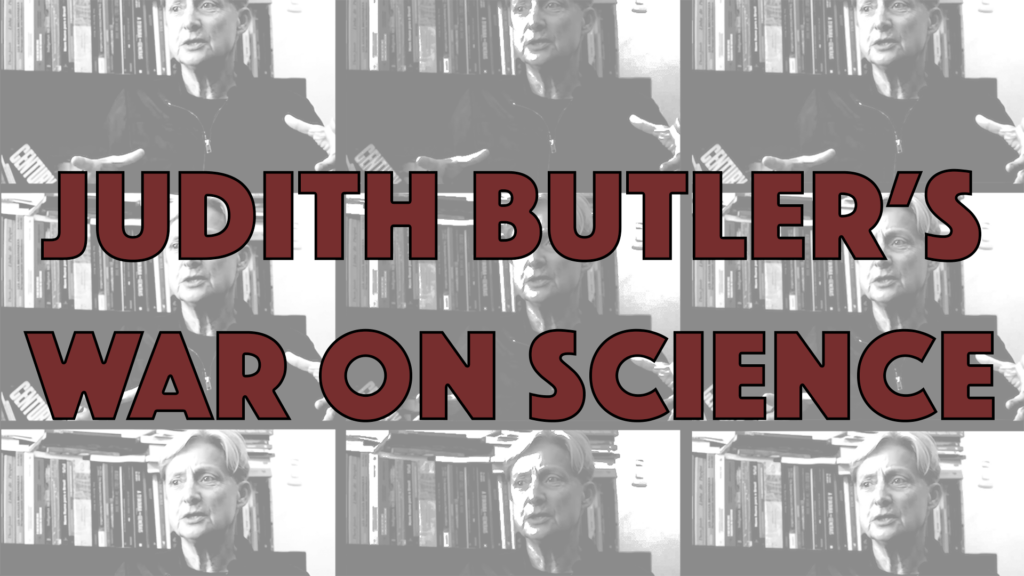 Poster for Architects of Woke: Judith Butler's War on Science