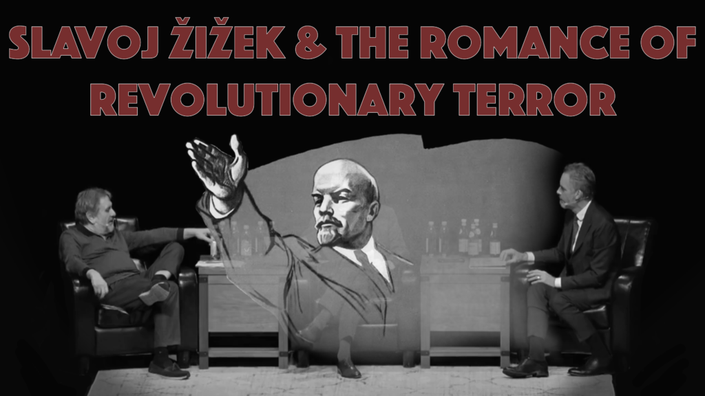 Poster for Architects of Woke: Slavoj Žižek & the Romance of Revolutionary Terror