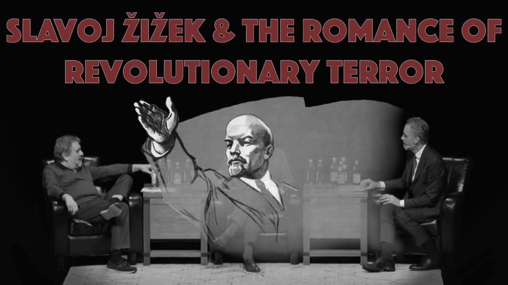 Poster for Architects of Woke: Slavoj Žižek & the Romance of Revolutionary Terror