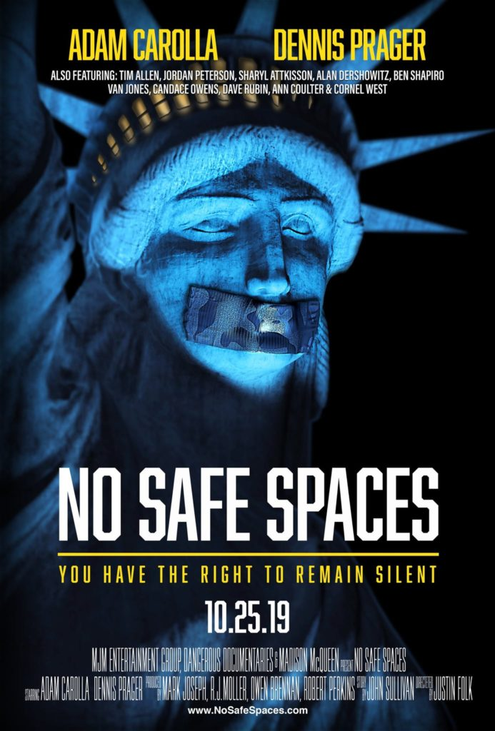 Poster for No Safe Spaces