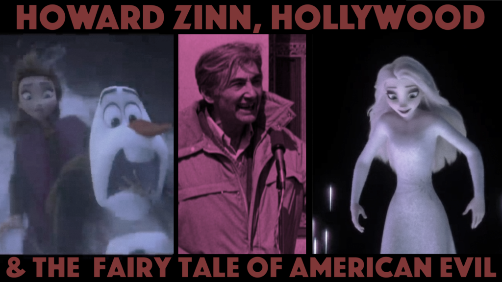 Poster for Architects of Woke: Howard Zinn, Hollywood, & the Fairy Tale of American Evil