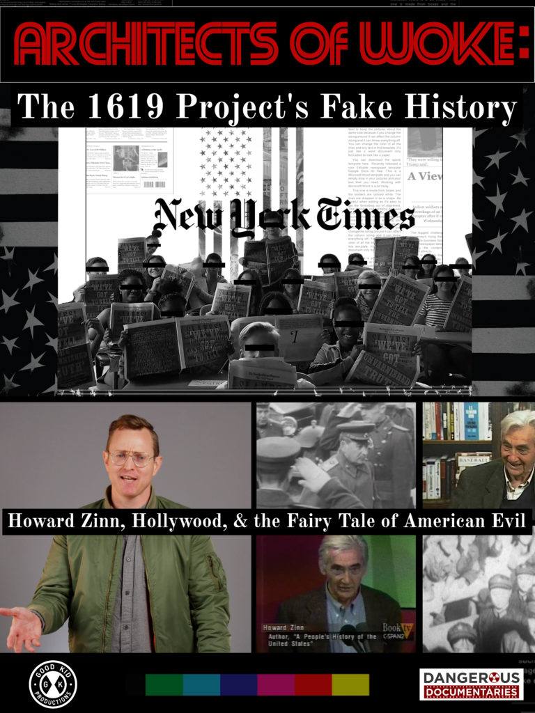 Poster for Architects of Woke: The 1619 Project's Fake History