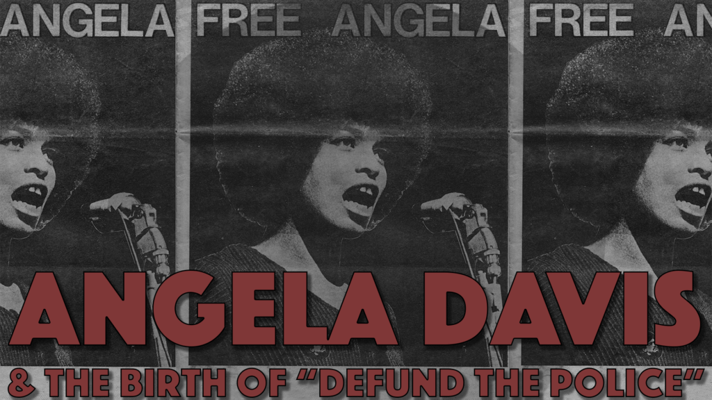 Poster for Architects of Woke: Angela Davis & the Birth of Defund the Police